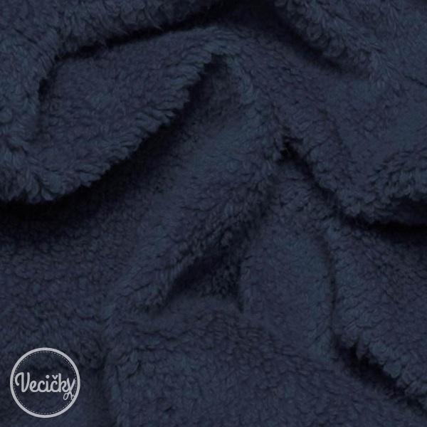 Curly teddy - navy