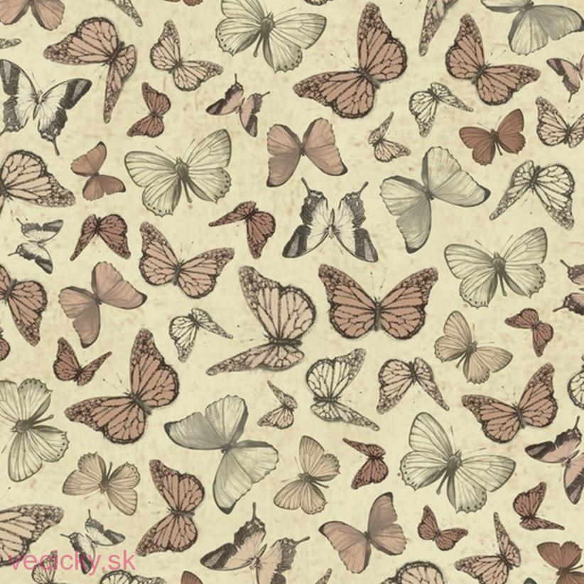QUILTING TREASURES - MIRABELLE BUTTERFLIES