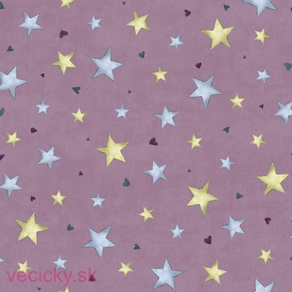QUILTING TREASURES - rainbow dreams - PLUM STARS