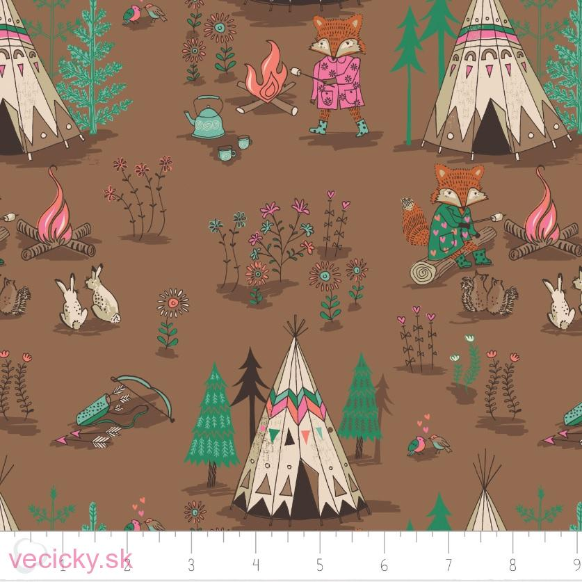 Wilderness - Campsite in Brown