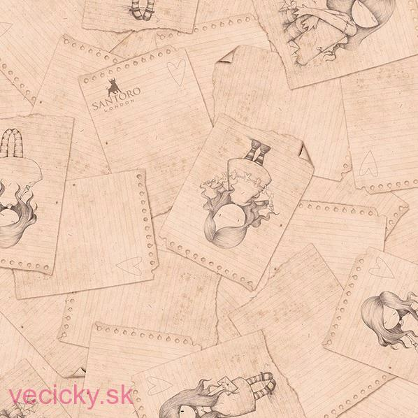 QUILTING TREASURES - NOTEPAD SKETCHES BEIGE- 24993a