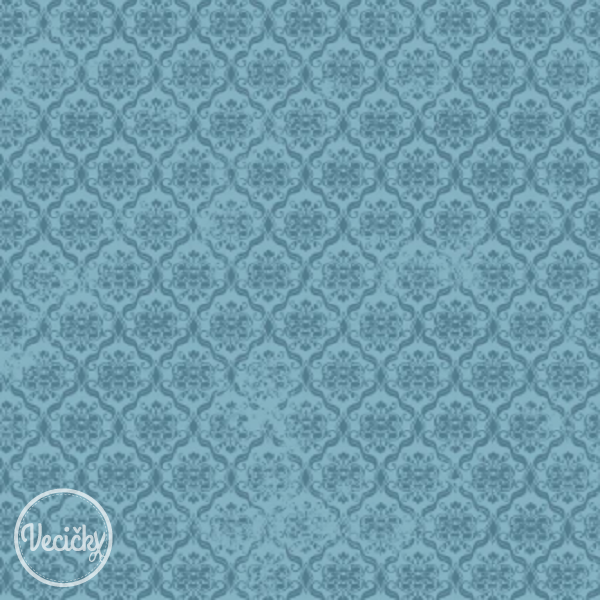 QUILTING TREASURES - Ormanents blue