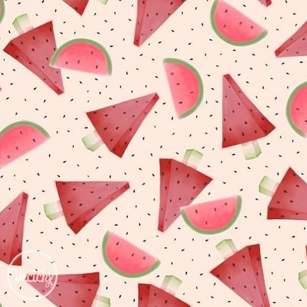QUILTING TREASURES - Melon Pieces hellrosa