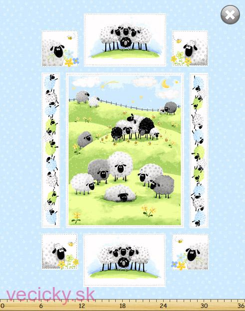 Suzybee -Lewe, the Ewe - panel
