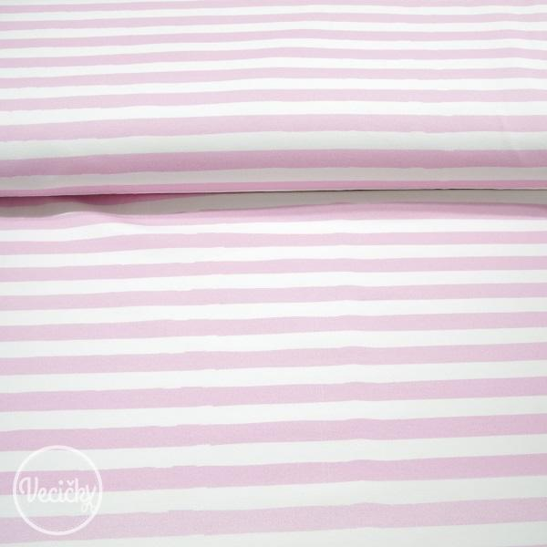 Úplet - stripes pink white