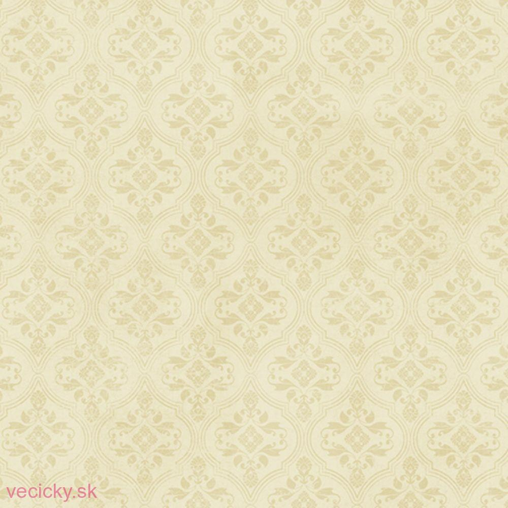 QUILTING TREASURES - MIRABELLE CREAM BROCADE