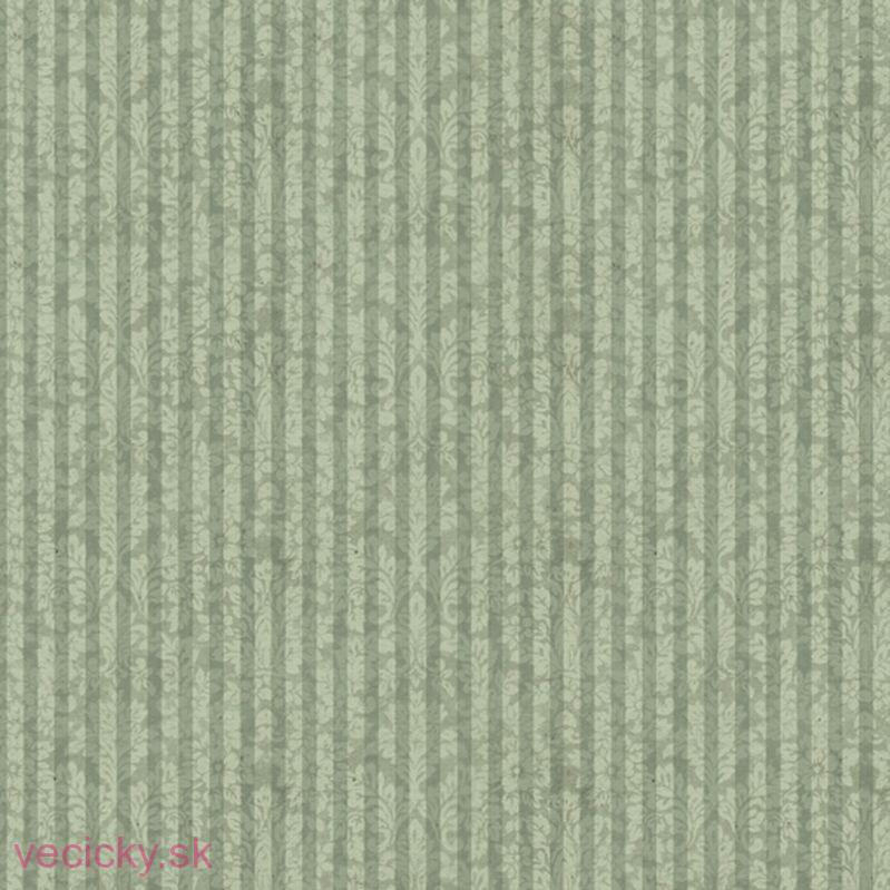 QUILTING TREASURES - MIRABELLE SAGE DAMASK STRIPE