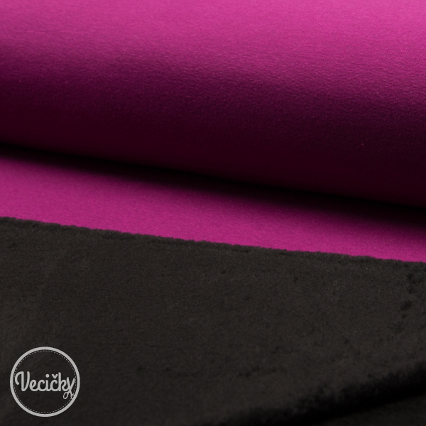Warmkeeper - fuchsia- black