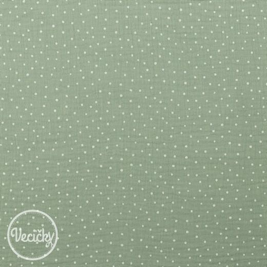 Dvojitá gázovina - little dots mint