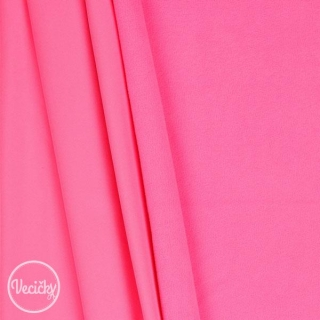Zimný softshell - pink neon