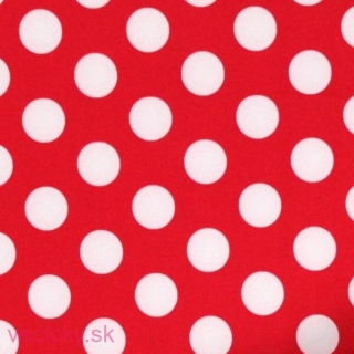 Softshell- BIG DOTS RED