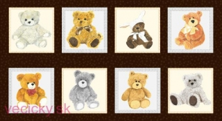 EQ-Love Me Teddy Bear panel