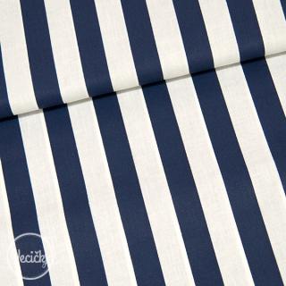 44499ff21d84 Bavlna - bielo modrý pásik 22 mm empty