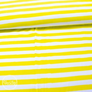 Úplet - stripes yellow white