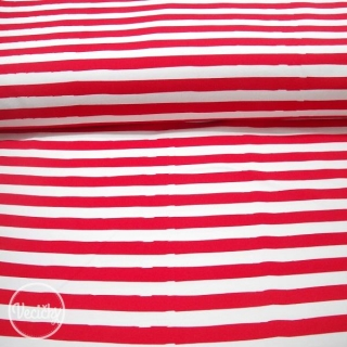 Úplet - stripes red white