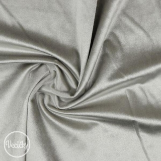 Luxury velvet - light grey