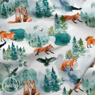 TEPLÁKOVINA - foxes in the wood